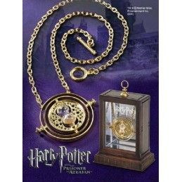 NOBLE COLLECTIONS HARRY POTTER - HERMIONE TIME TURNER GIRATEMPO REPLICA