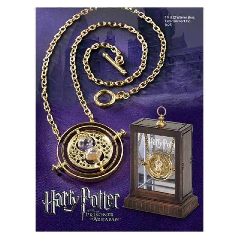 HARRY POTTER - HERMIONE TIME TURNER GIRATEMPO REPLICA NOBLE COLLECTIONS