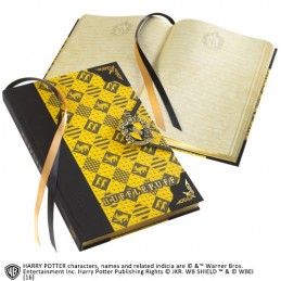 NOBLE COLLECTIONS HARRY POTTER HUFFLEPUFF JOURNAL - DIARIO TASSOROSSO