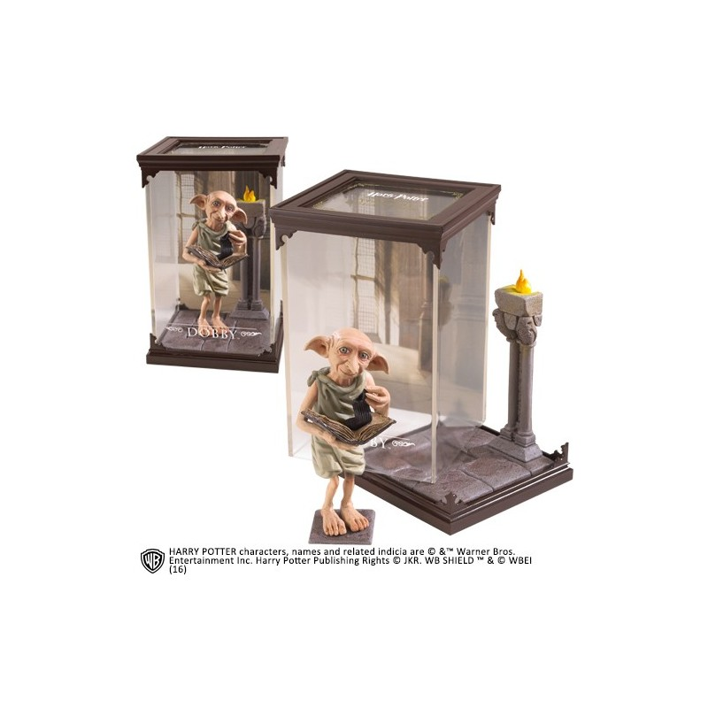 HARRY POTTER MAGICAL CREATURES - DOBBY STATUA FIGURE NOBLE COLLECTIONS