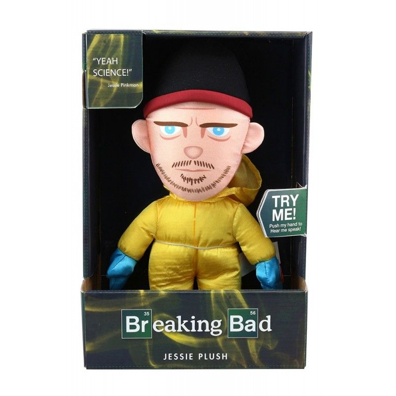 50FIFTY PELUCHE BREAKING BAD JESSIE TALKING PLUSH 26CM