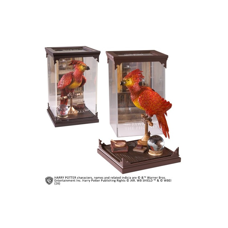 HARRY POTTER MAGICAL CREATURES - FAWKES STATUA FIGURE NOBLE COLLECTIONS