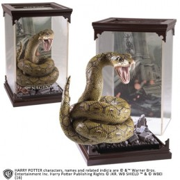 NOBLE COLLECTIONS HARRY POTTER MAGICAL CREATURES - NAGINI STATUA FIGURE