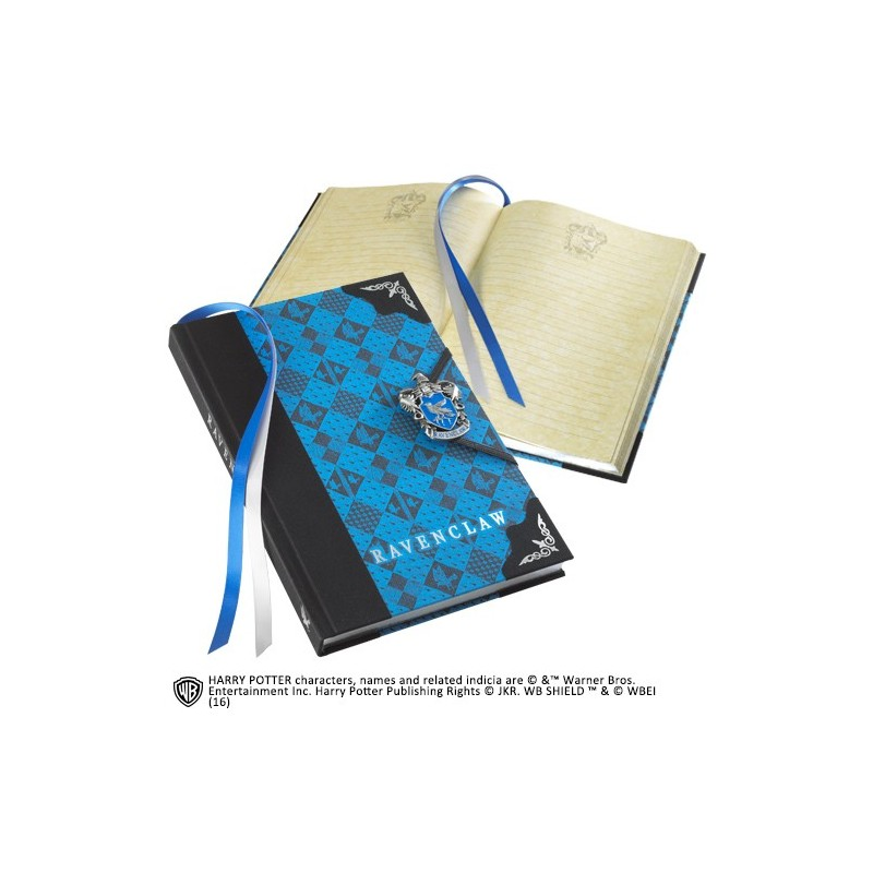 HARRY POTTER RAVENCLAW JOURNAL - DIARIO CORVONERO NOBLE COLLECTIONS