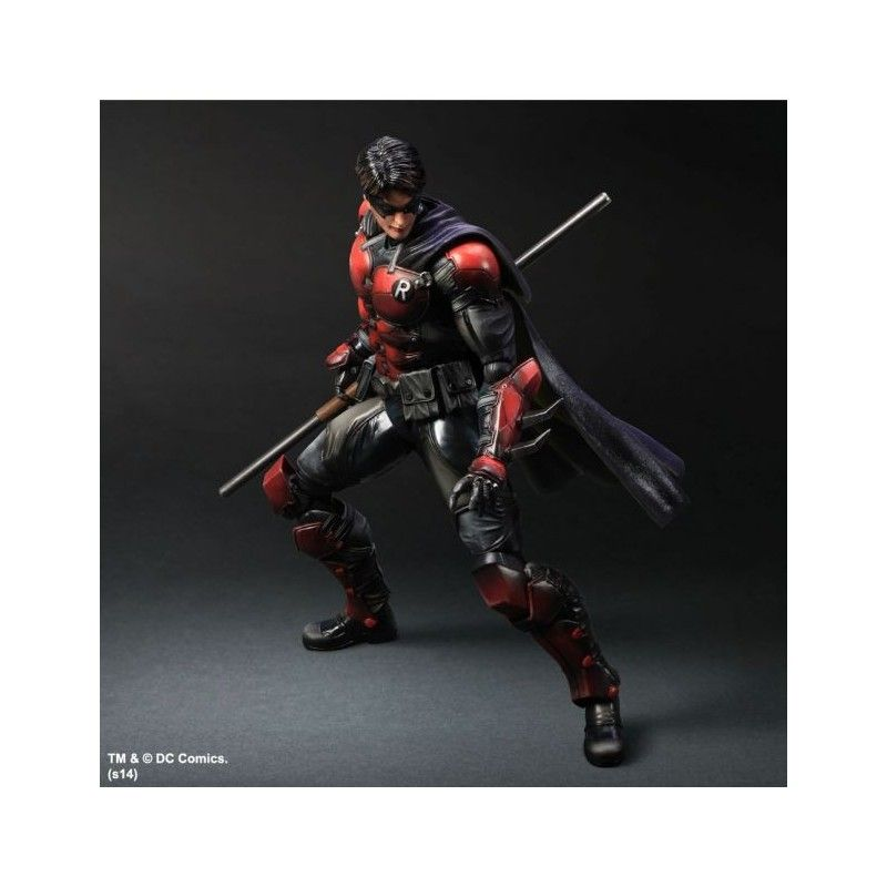 BATMAN ARKHAM ORIGINS ROBIN PLAY ARTS KAI PAK ACTION FIGURE SQUARE ENIX