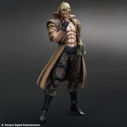 METAL GEAR SOLID LIQUID SNAKE PLAY ARTS KAI ACTION FIGURE