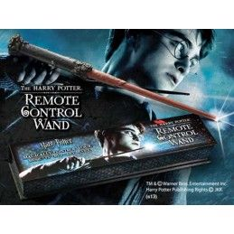 HARRY POTTER REMOTE CONTROL BACCHETTA ILLUMINABILE WAND REPLICA NOBLE COLLECTIONS