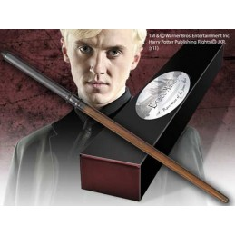 HARRY POTTER WAND DRACO MALFOY REPLICA BACCHETTA NOBLE COLLECTIONS