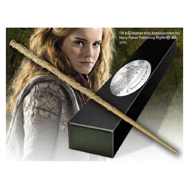 NOBLE COLLECTIONS HARRY POTTER WAND HERMIONE REPLICA BACCHETTA
