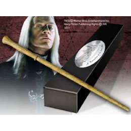 NOBLE COLLECTIONS HARRY POTTER WAND LUCIUS MALFOY REPLICA BACCHETTA