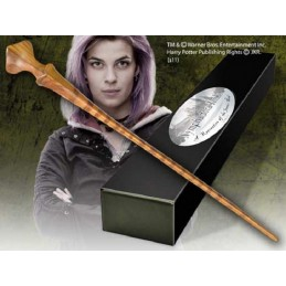 HARRY POTTER WAND NYMPHADORA TONKS REPLICA BACCHETTA NOBLE COLLECTIONS
