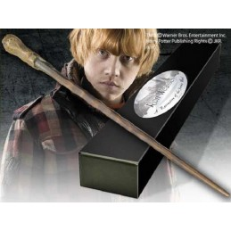NOBLE COLLECTIONS HARRY POTTER WAND RON WEASLEY REPLICA BACCHETTA