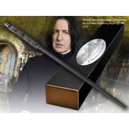 NOBLE COLLECTIONS HARRY POTTER WAND SEVERUS SNAPE PITON REPLICA BACCHETTA