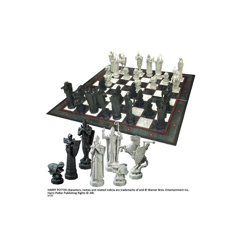 NOBLE COLLECTIONS HARRY POTTER - WIZARD CHESS SCACCHIERA