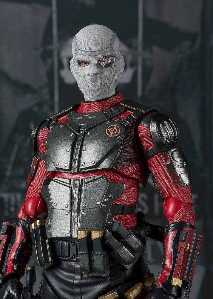S.H Figuarts Deadshot Suicide Squad Action Figure DC Comics IN STOCK USA