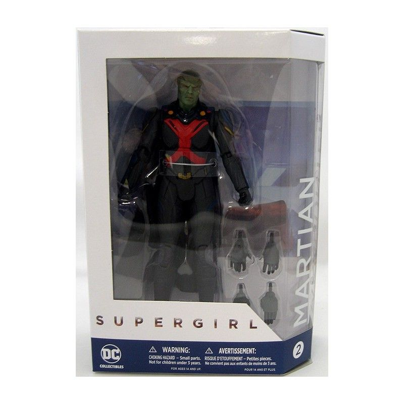 DC COLLECTIBLES SUPERGIRL SERIE TV - MARTIAN MANHUNTER ACTION FIGURE