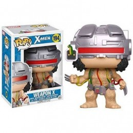FUNKO POP! X-MEN - LOGAN WOLVERINE WEAPON X BOBBLE HEAD KNOCKER FIGURE