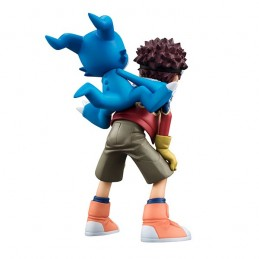 DIGIMON ADVENTURE DAISUKE AND V-MON G.E.M. SERIES STATUE FIGURE