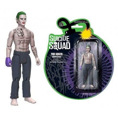 SUICIDE SQUAD - THE JOKER SHIRTLESS ACTION FIGURE
