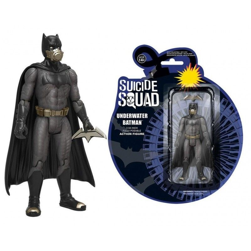 FUNKO SUICIDE SQUAD - UNDERWATER BATMAN ACTION FIGURE