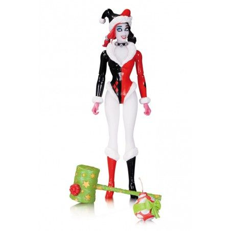 DC DESIGNERS SERIES CONNER HOLIDAY HARLEY QUINN ACTION FIGURE