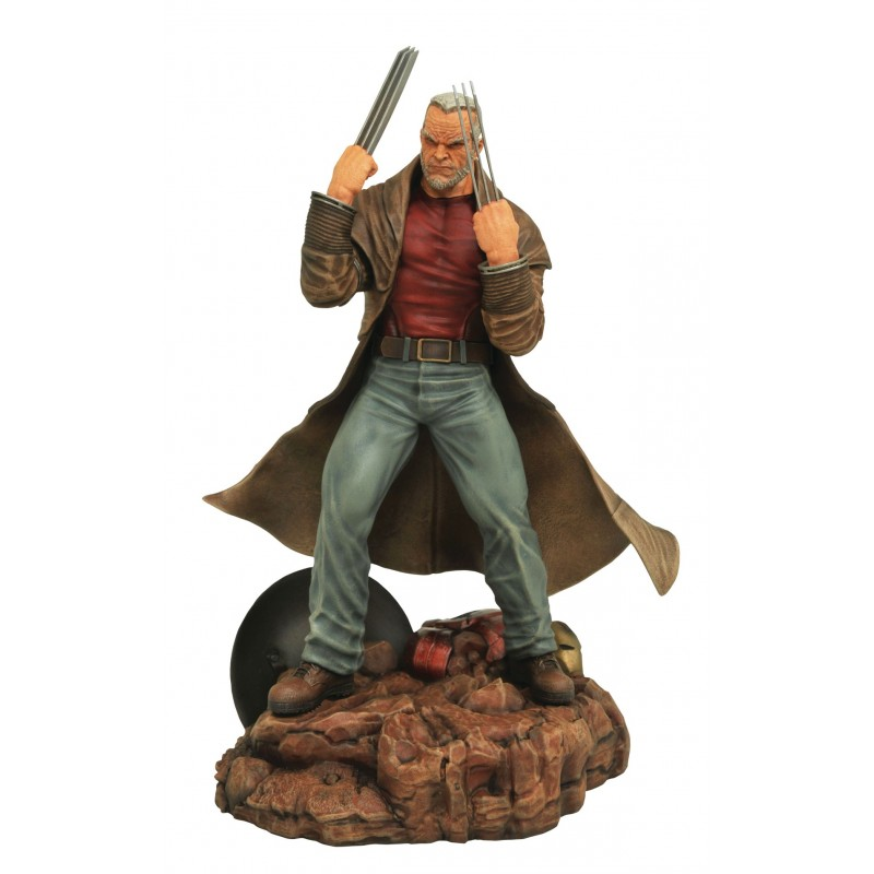 Marvel gallery wolverine old man logan figure statue