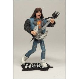 MC FARLANE GUITAR HERO AXEL STEEL ACTION FIGURE