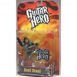 GUITAR HERO AXEL STEEL ACTION FIGURE MC FARLANE