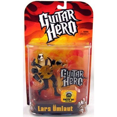GUITAR HERO LARS UMLAUT ALTERNATE ACTION FIGURE