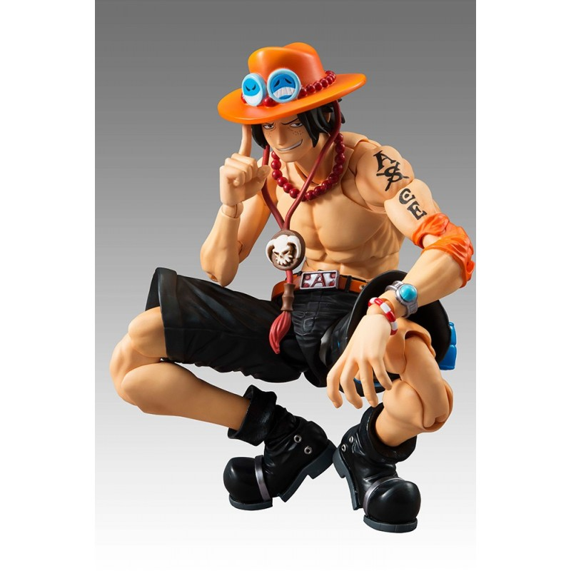 MEGAHOUSE ONE PIECE - PORTGAS D. ACE VARIABLE ACTION HERO ACTION FIGURE