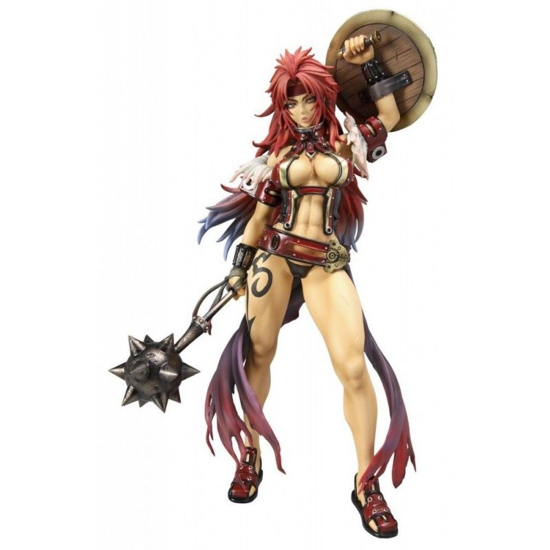 QUEEN'S BLADE EX RISTY BANDIT OF THE WILDERNESS STATUE FIGURE MEGAHOUSE