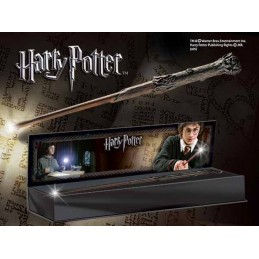 NOBLE COLLECTIONS HARRY POTTER WAND HARRY ILLUMINATING REPLICA BACCHETTA
