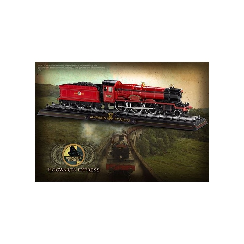 NOBLE COLLECTIONS HARRY POTTER - TRENO HOGWARTS EXPRESS DIE CAST METALLO REPLICA