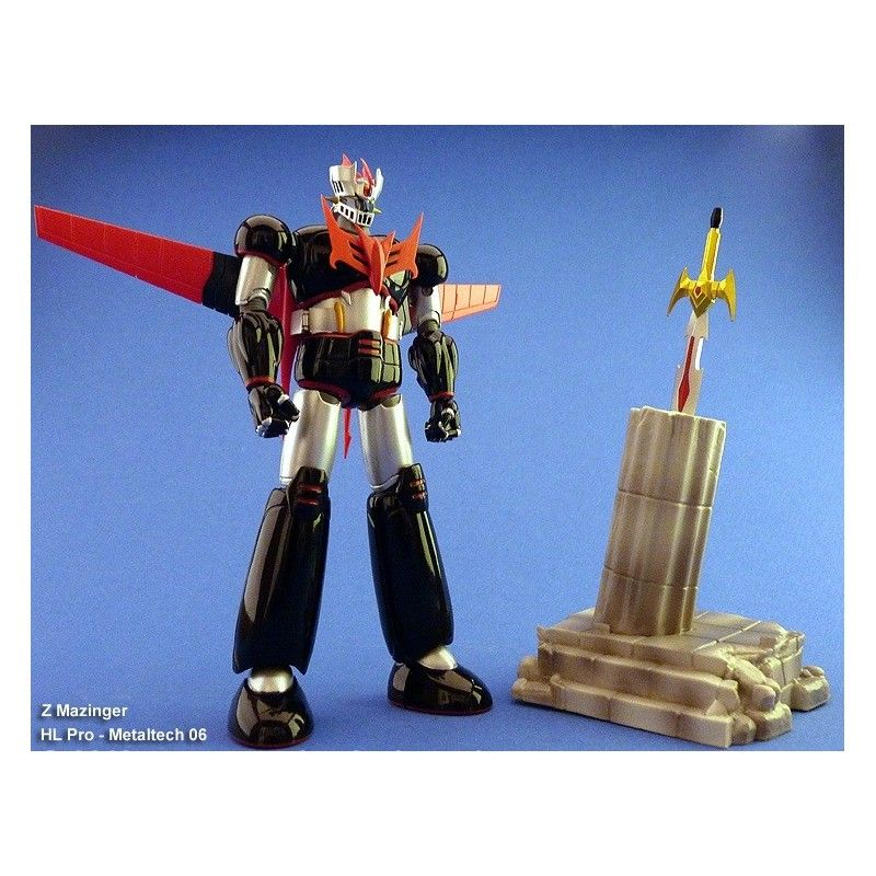 HIGH DREAM MAZINGER Z METALTECH 06 BLACK VER HLPRO ACTION FIGURE