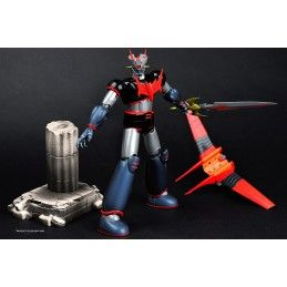 MAZINGER Z METALTECH 06 BLACK/BLU VER HLPRO ACTION FIGURE