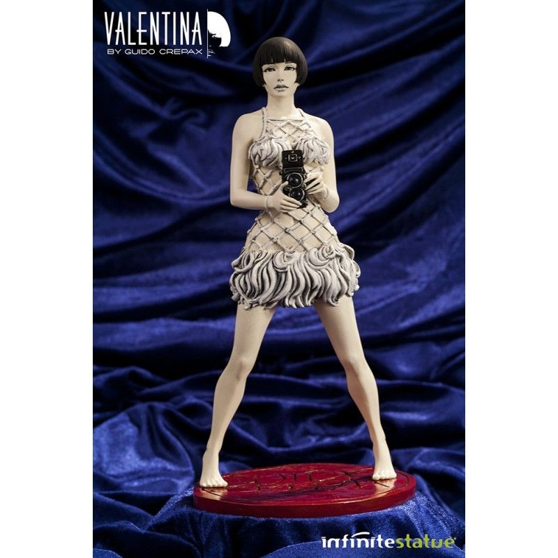 INFINITE STATUE VALENTINA BY GUIDO CREPAX 30 CM LIMITED STATUE FIGURE
