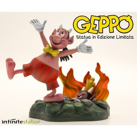 GEPPO 15 CM LIMITED STATUE FIGURE