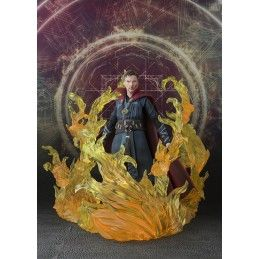 BANDAI MARVEL DOCTOR STRANGE BURNING FLAME SET S.H. FIGUARTS ACTION FIGURE