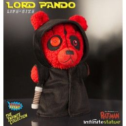 RAT-MAN COLLECTION LORD PANDO LIFE SIZE 30 CM PLUSH PELUCHES FIGURE LEO ORTOLANI INFINITE STATUE