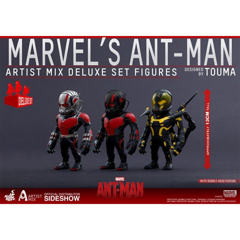 HOT TOYS MARVEL ANT-MAN ARTIST MIX DELUXE SET ACTION FIGURE