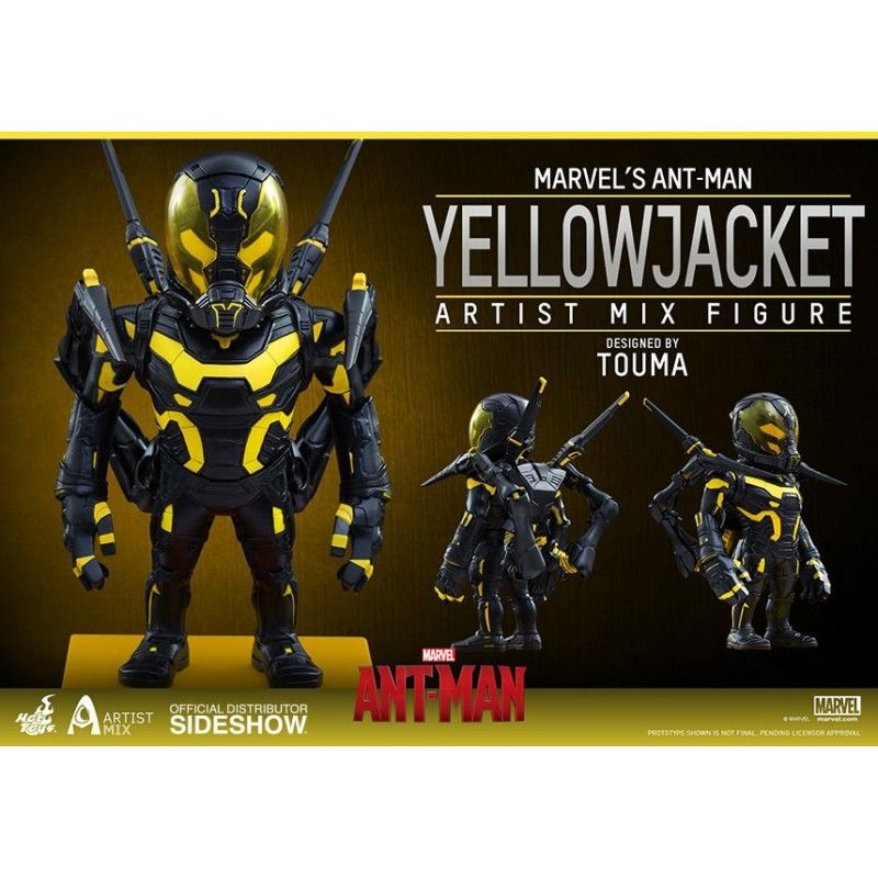 MARVEL ANT-MAN YELLOWJACKET ACTION FIGURE HOT TOYS