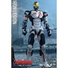 "HOT TOYS AVENGERS AGE OF ULTRON IRON MAN IRON LEGION 12"" 1/6 SCALE ACTION FIGURE"