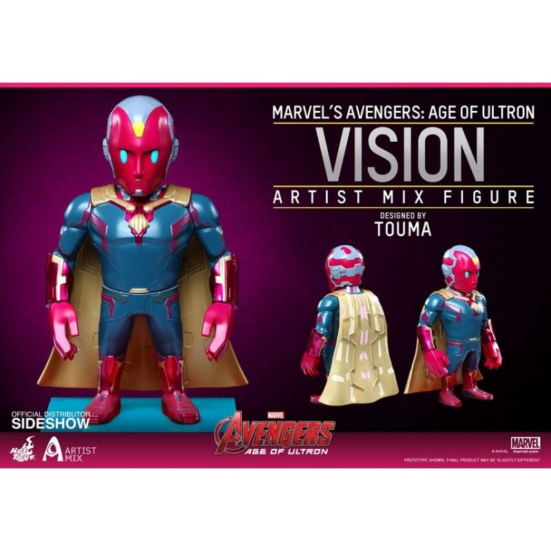 HOT TOYS AVENGERS AGE OF ULTRON - ARTIST MIX SERIES 2 VISION ACTION FIGURE
