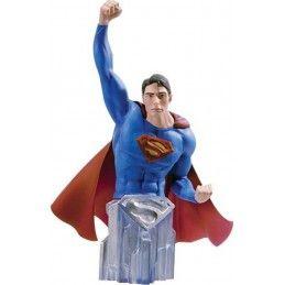 DC COMICS SUPERMAN RETURNS SUPERMAN BUST STATUE FIGURE DC COLLECTIBLES