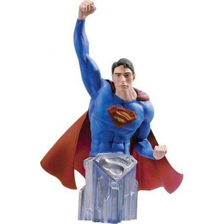 DC COMICS SUPERMAN RETURNS SUPERMAN BUST STATUE FIGURE
