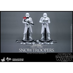 "STAR WARS FIRST ORDER SNOWTROOPERS SET 12"" ACTION FIGURE HOT TOYS"