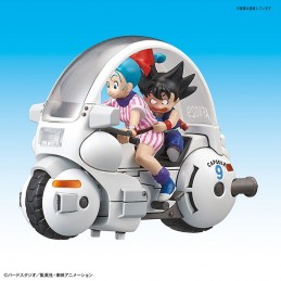 DRAGONBALL - BULMA'S CAPSULE 9 MOTORCYCLE MODEL KIT