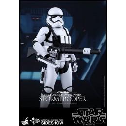 "STAR WARS EPISODE VII STORMTROOPER HEAVY GUNNER 12"" ACTION FIGURE HOT TOYS"