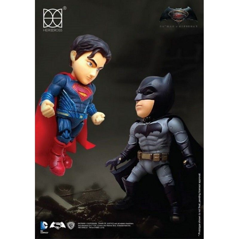 BATMAN V SUPERMAN - BATMAN HYBRID METAL FIGURATION ACTION FIGURE HEROCROSS