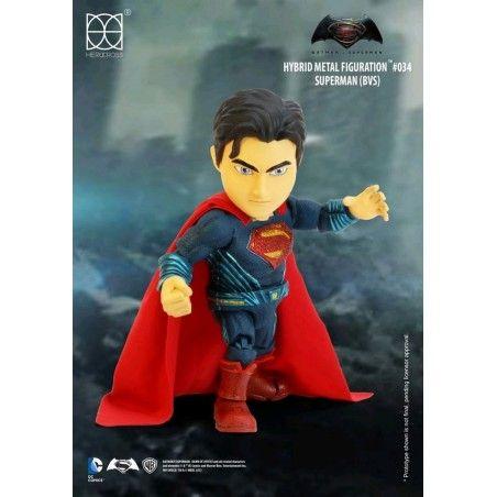 BATMAN V SUPERMAN - SUPERMAN HYBRID METAL FIGURATION ACTION FIGURE